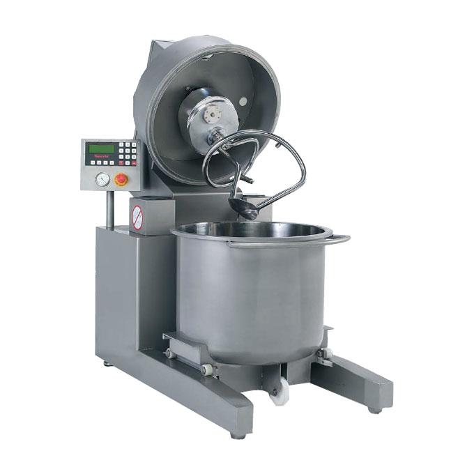 Máquina amasadora abierta para alimentación