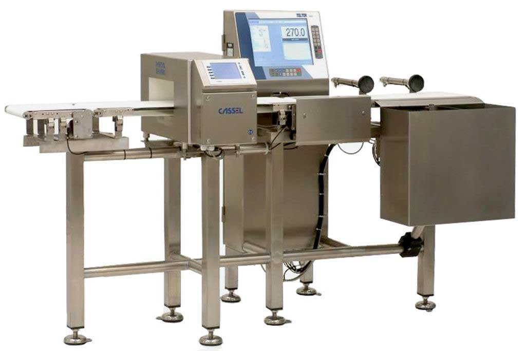 Máquina control de peso sector alimentación