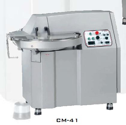 Maquinaria cutter para alimentación