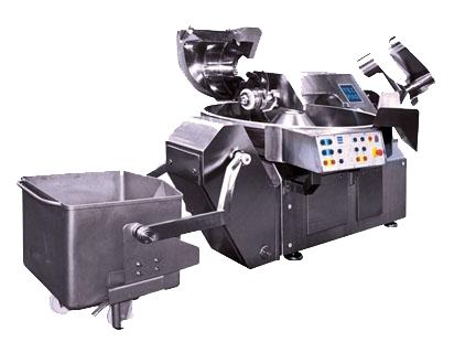 Máquina cutter para sector alimentación