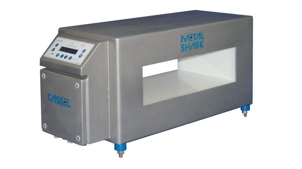 Máquina detector metales Shark