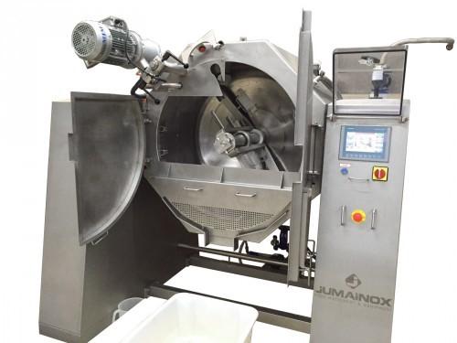 Máquina marmita de cocción