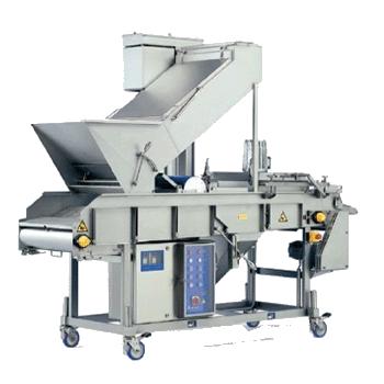 Máquina empanadora y encoladora para la industria agroalimentaria