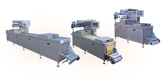 Máquinas de termoformado para alimentación
