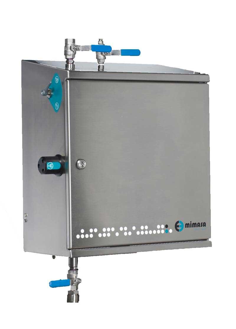 Unidad central para maquinaria de alimentación