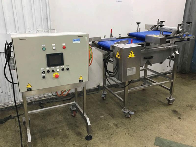 Máquina rodadora automática de croquetas para la industria agroalimentaria