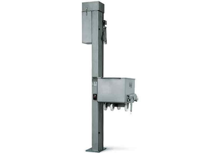 Máquina elevadora de columna Roser para el sector agroalimentario