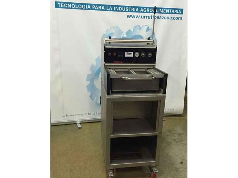 Máquina termoselladora Garbi alimentación